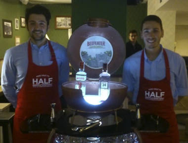Barman y cocteleros profesionales